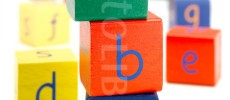 Learning-bricks, alphabets and numbers  iPad/ iPhone Learning Blocks for the Alphabet (A-Z)